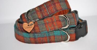 Rory Tweed Designer Dog Collar