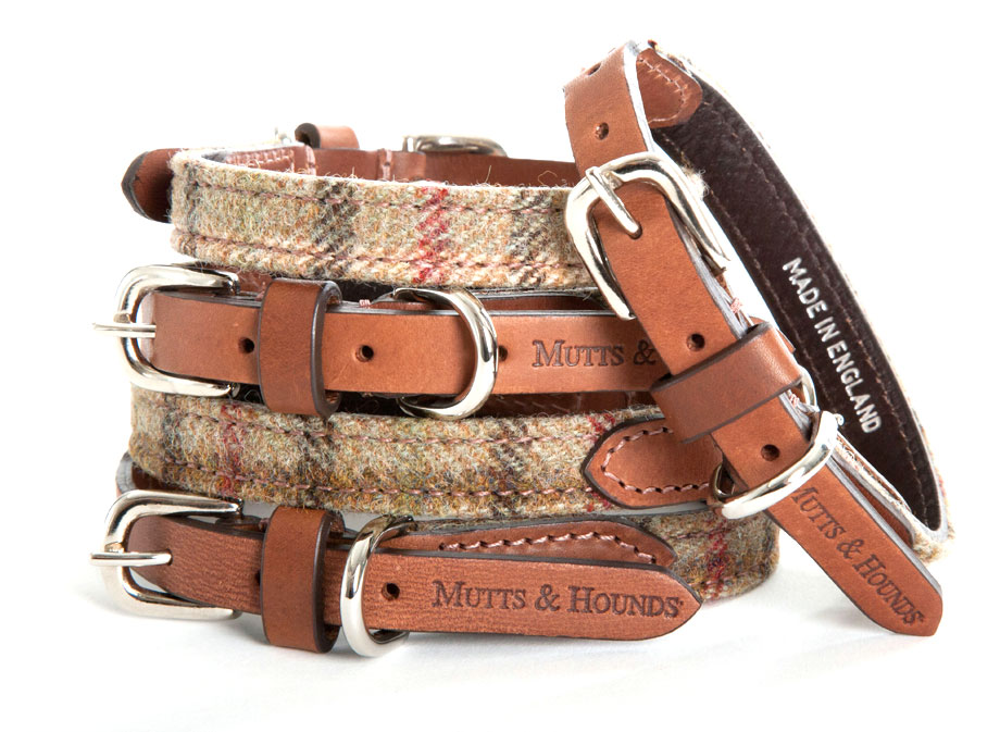 Balmoral Tweed Dog Collar