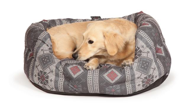 new fairisle dog beds by danish design. Black Bedroom Furniture Sets. Home Design Ideas