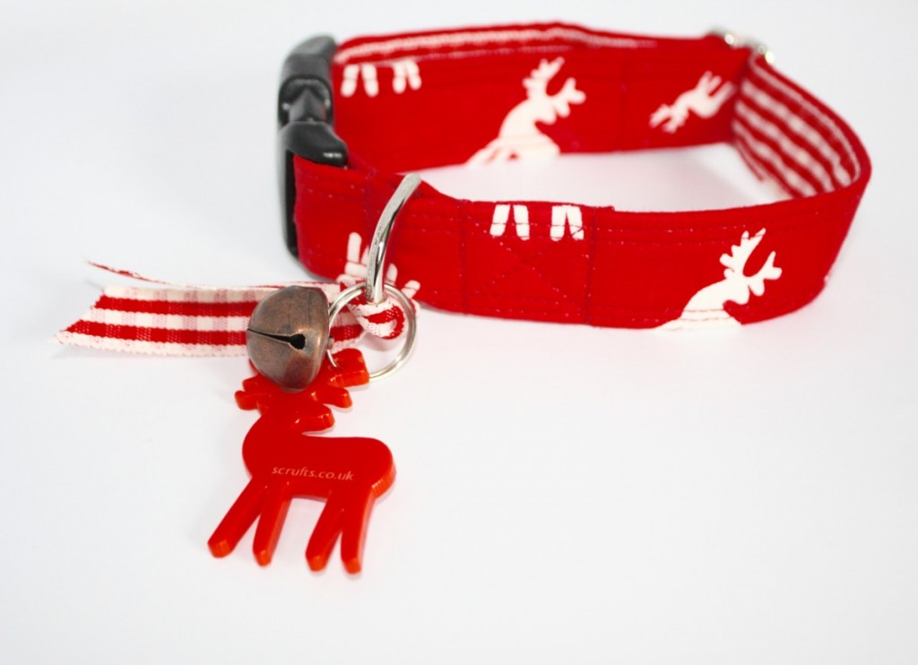 Rudolf Christmas Dog Collars by Scrufts UK