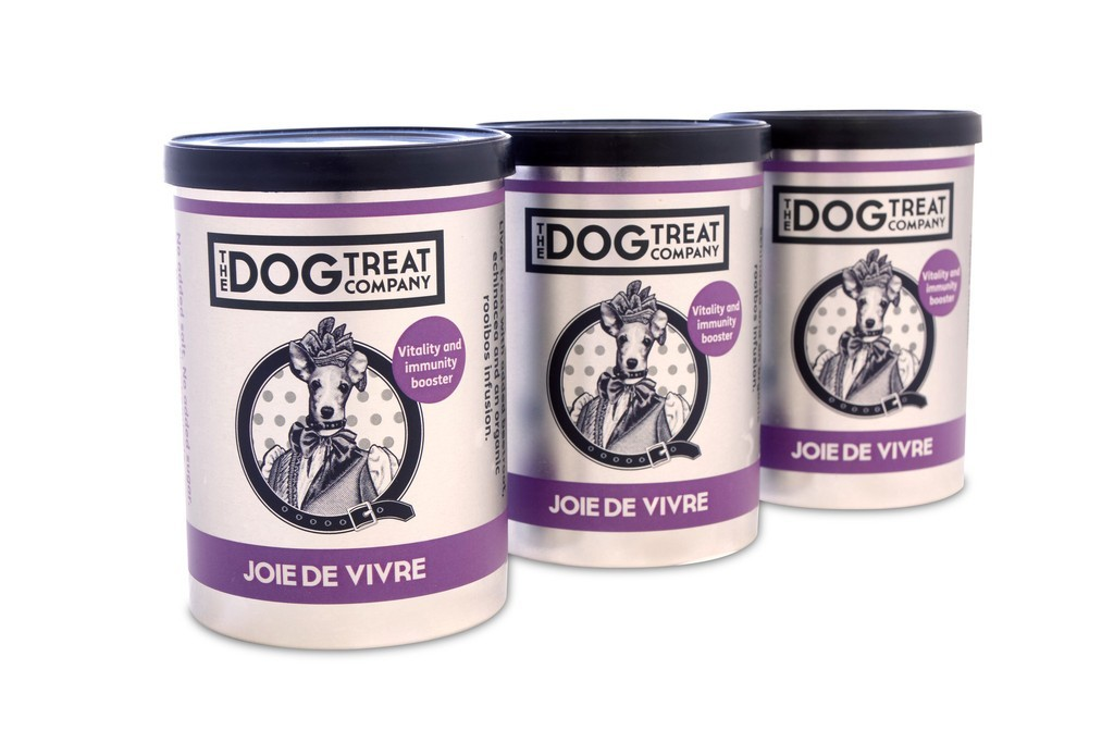 Joie De Vivre Trio of Tins Dog Treats by The Dog Treat Company