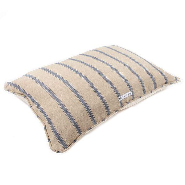 Blue Stripes designer dog bed mutts and hounds