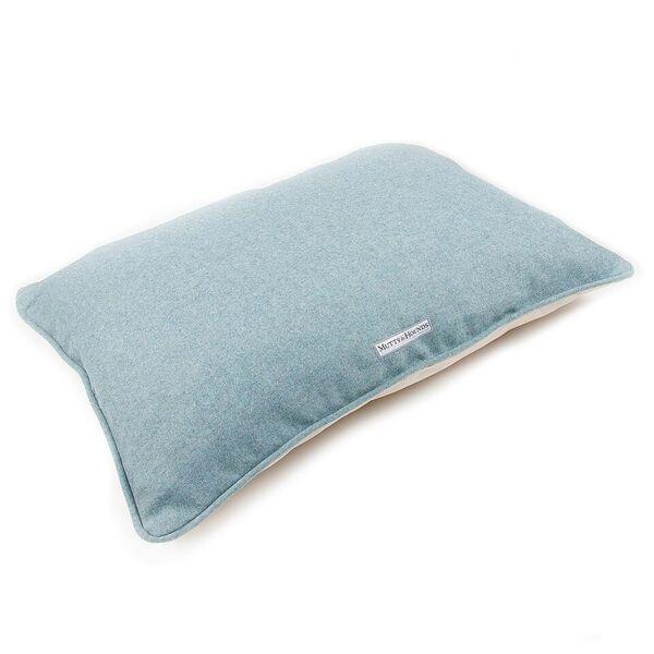 Blue Tweed Luxury Dog Bed