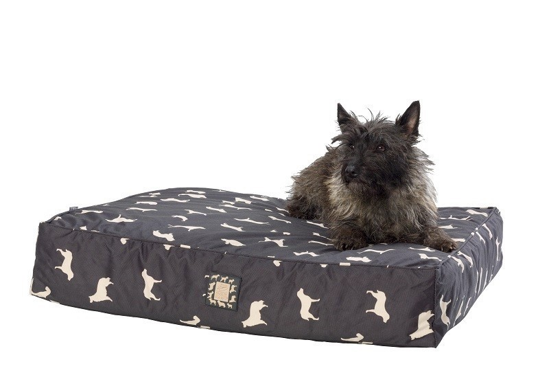 Dog Print Waterproof Dog Bed by House of Paws