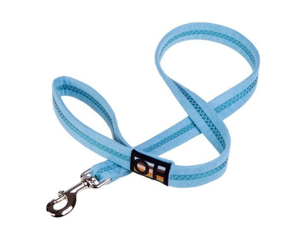 blue soft dog leads