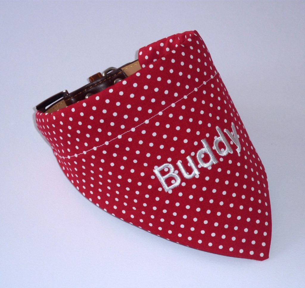 personalised bandanas for dogs