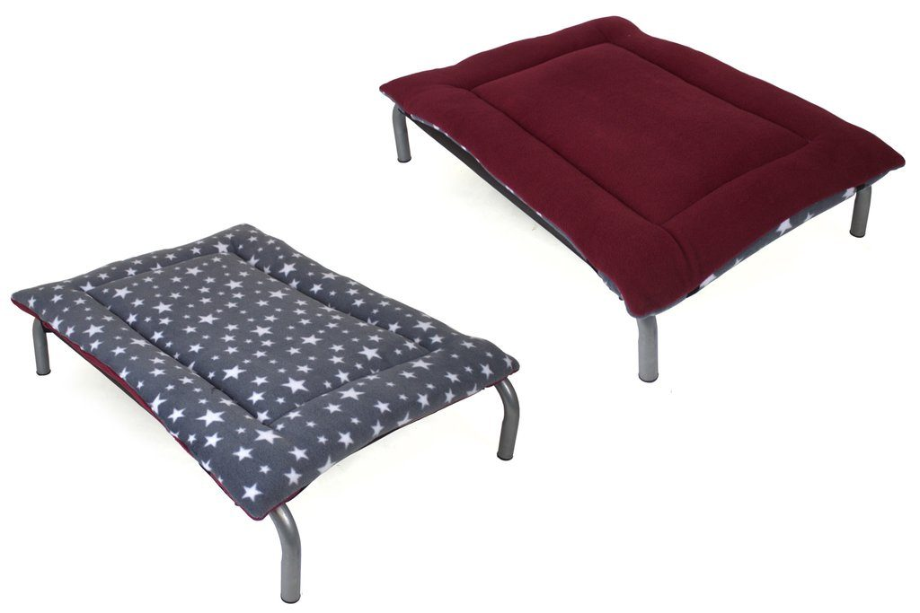 reversible pad topper for HiK9 raised dog bed