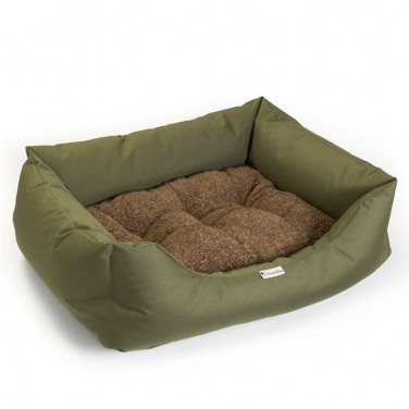 green dog sofa for working dogs