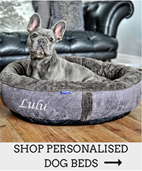 Personalised Dog Beds at Chelsea Dogs