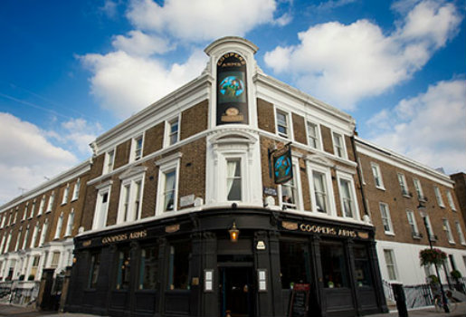 Coopers Arms Dog Friendly Pub in Chelsea
