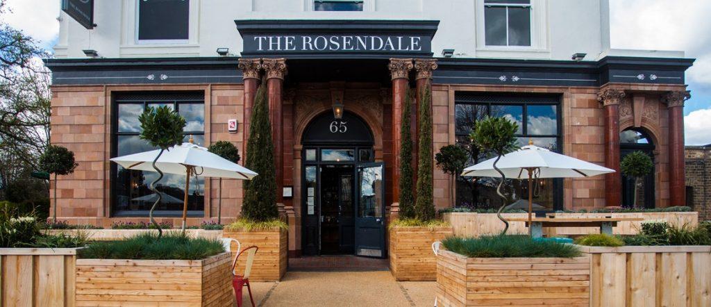 The Rosendale Pet Friendly Pub in Chelsea