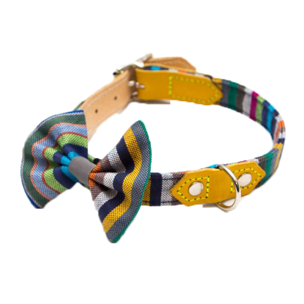 dog collar accessories, bow ties, bandanas and flowers for dogs