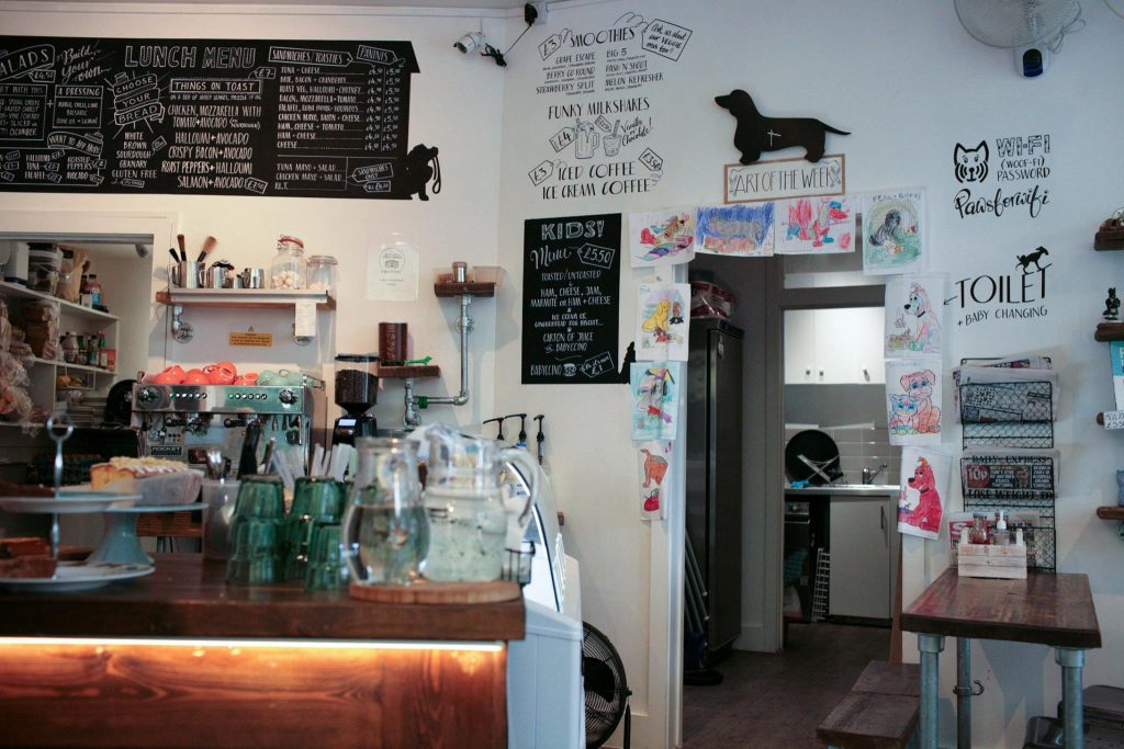 dog cafes london paws for cofee
