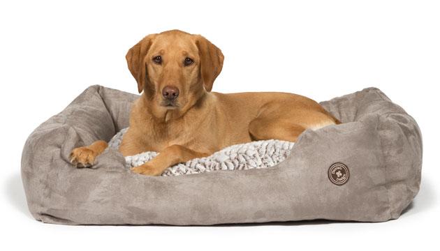 Danish Design Arctic Snuggle Grey Dog Bed