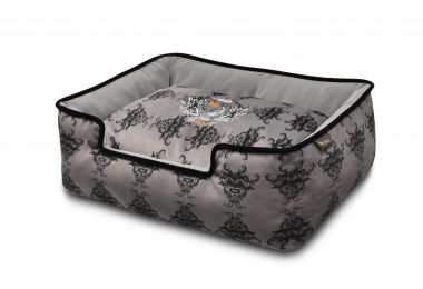 grey dog beds