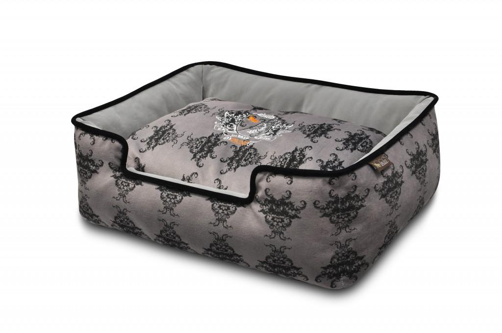 grey dog beds