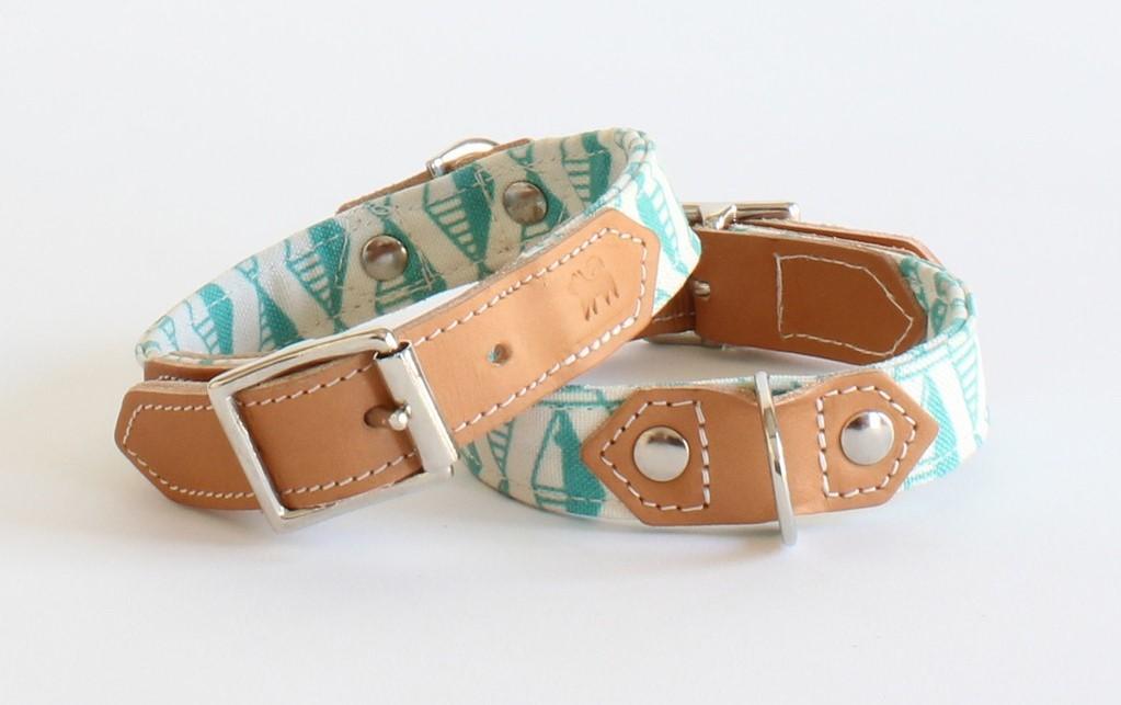 hiro and wolf handmade dog collars