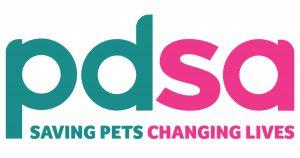 PDSA logo dog neutering