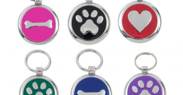 luxury dog tags