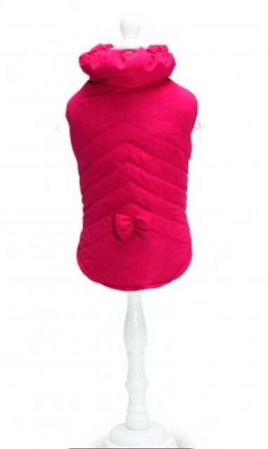 crorci raspberry dog jacket