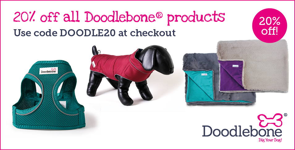 Doodlebone cheap dog collars and harnesses