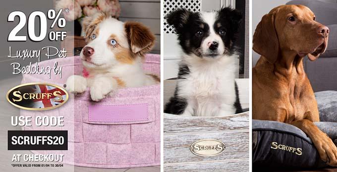 Scruffs Luxury Dog Beds Discount UK