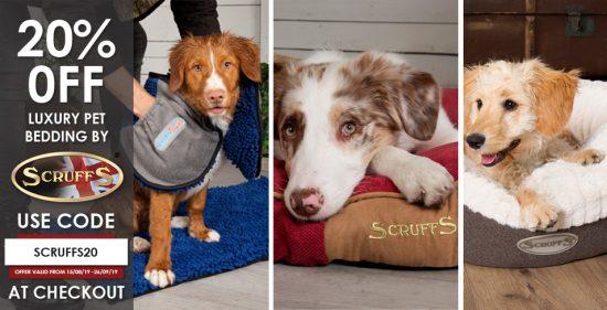 Scruffs Luxury Pet Beds Discount Code
