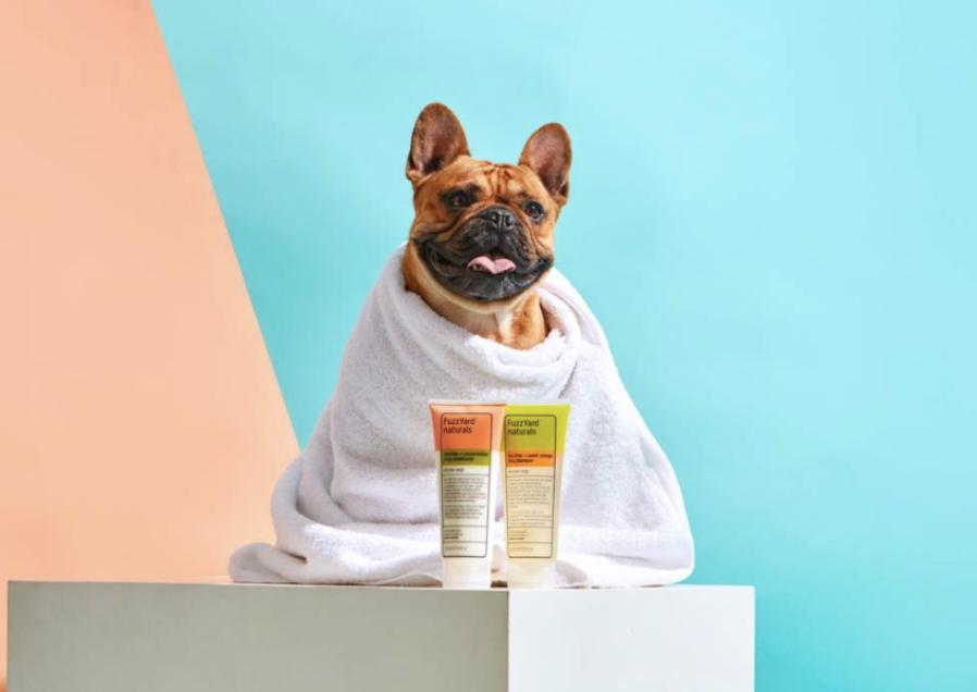 FuzzYard shampoo and conditioner