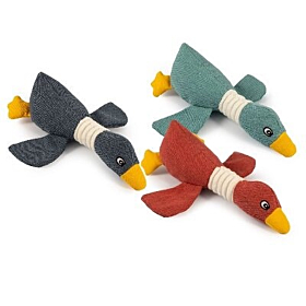 Canvas Duck Dog Toy