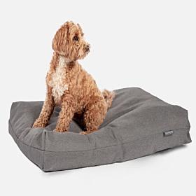 Anti-Bacterial Deluxe Duvet Dog Bed Steel Grey by Danish Design