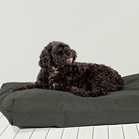 Anti-Bacterial Deluxe Duvet Dog Bed Forest Green by Danish Design