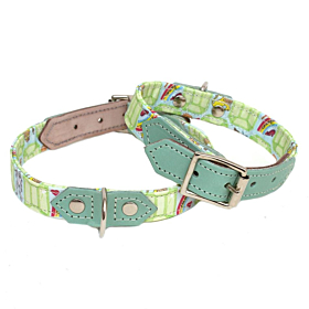 Emerald City Dog Collar by Hiro & Wolf