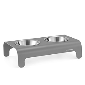 Rico Dog Feeder Grey by Labbvenn