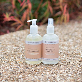 Mandarin & Lime Luxury Dog Shampoo and Grooming Spray By Mutts and Hounds