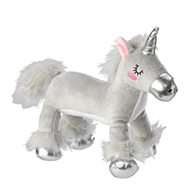 Plush Unicorn Dog Toy by House of Paws