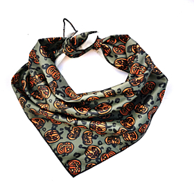 Khaki Pumpkins Dog Bandana | Pet Pooch Boutique