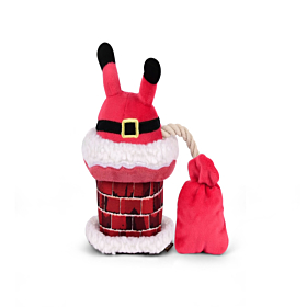 P.L.A.Y Christmas Clumsy Claus Plush Toy   Christmas Dog Toys