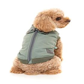 FuzzYard Sage Green MacGyver Harness Dog Jacket