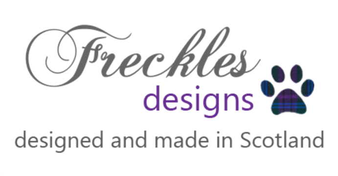 Freckles Designs British Drying Dog Coats