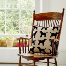 Personalised Dog Cushions, Dog Print Cushions, Dog Fabric Cushions
