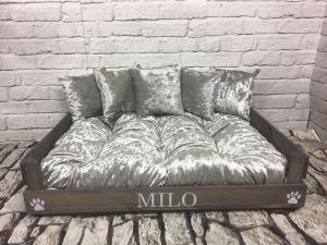 Luxury Raised Wooden Dog Beds | Stylish Wooden Dog Beds | Chelsea Dogs